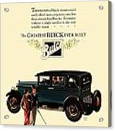 1927 - Buick Automobile - Color Acrylic Print