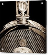 1927 Bugatti Replica Hood Ornament - Emblem Acrylic Print