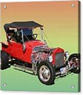 1927 Ford T Bucket Rag Top T Bucket Acrylic Print