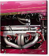 Antique Car Engine Acrylic Print