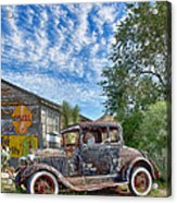 1928 Ford Model A Acrylic Print by Robert Jensen