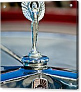 1928 Nash Coupe Hood Ornament 2 Acrylic Print