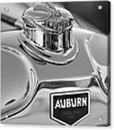 1929 Auburn 8-90 Speedster Hood Ornament 2 Acrylic Print