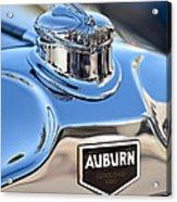 1929 Auburn 8-90 Speedster Hood Ornament Acrylic Print