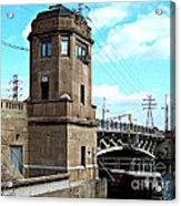1929 Dix Lift Bridge Acrylic Print