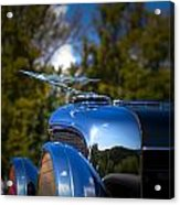 1929 Duesenberg Model J Covertible Coupe By Murphy Acrylic Print