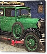 1929 Ford Model A By Liane Wright Acrylic Print
