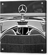 1929 Mercedes-benz S Erdmann - Rossi Cabiolet Hood Ornament Acrylic Print
