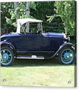 1929 Model-a Roadster 4 Acrylic Print