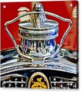 1929 Packard 8 Hood Ornament 2 Acrylic Print