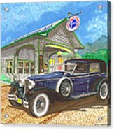 1930 Cord L Towncar Acrylic Print