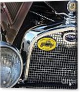 1930 Ford Model A - Front End - 7497 Acrylic Print