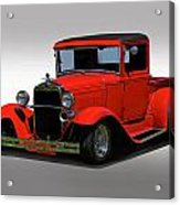 1930 Ford Model A Pick Up Acrylic Print