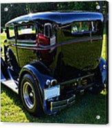1930 Ford Model A Sedan Acrylic Print