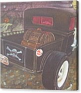 1930 Ford Pick Up Truck/reaper Acrylic Print