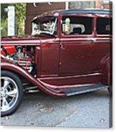 1930 Ford Two Door Sedan Side View Acrylic Print