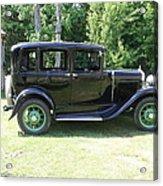 1930 Model-a Town Car 1 Acrylic Print
