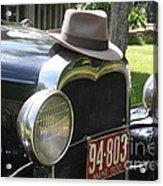 1930 Model-a Town Car 2 Acrylic Print