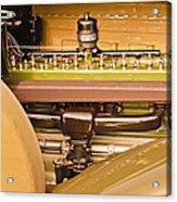 1930 Packard Speedster Runabout Engine -0539c Acrylic Print