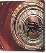 1930 Ruxton Wheel Acrylic Print