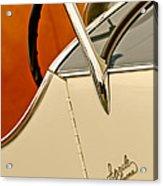 1931 Alfa Romeo 6c 1750 Gran Sport Aprile Spider Corsa Steering Wheel Acrylic Print