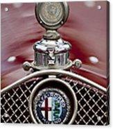 1931 Alfa-romeo Hood Ornament Acrylic Print
