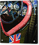 1931 Bentley 4.5 Liter Supercharged Le Mans Steering Wheel -1255c Acrylic Print