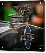 1931 Chevrolet Emblem Acrylic Print