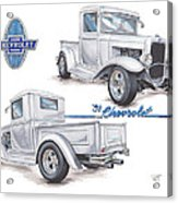 1931 Chevrolet Truck Hot Rod Acrylic Print