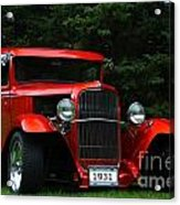 1931 Ford Panel Delivery Truck  Acrylic Print
