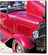 1931 Ford With Rumble Seat Acrylic Print