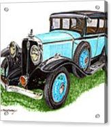 1931 Studebaker President Acrylic Print
