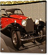 1932 Bugatti - Featured In 'comfortable Art' Group Acrylic Print