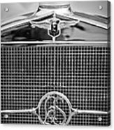 1932 Cadillac Lasalle Grille Emblem Acrylic Print