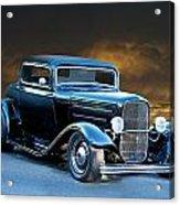 1932 Deuce Coupe Acrylic Print