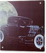 1932 Ford Coupe-harvest Moon Coupe Acrylic Print