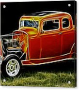 1932 Ford Fenderless Coupe Acrylic Print