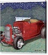 1932 Ford High Boy Acrylic Print