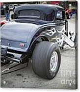 1932 Ford Highboy Back View Classic Car Automobile In Color  310 Acrylic Print