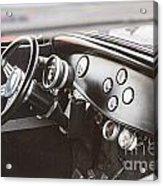 1932 Ford Highboy Dashboard Car Automobile In Color  3108.02 Acrylic Print