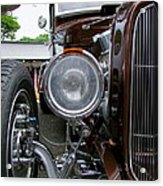 1932 Ford Roadster Head Lamp View Acrylic Print
