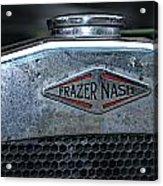 1932 Frazer Nash Tt Radiator Badge Acrylic Print