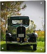 1932 Frontenac 6-70 Sedan  Acrylic Print