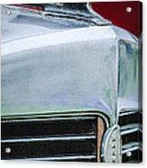 1932 Marmon Sixteen Lebaron Victoria Coupe Hood Ornament - Grille Emblem - 1904c Acrylic Print