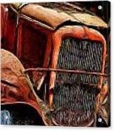 1932 Memories Acrylic Print by Cary Shapiro