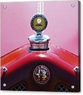 1933 Alfa Romeo P-2 Monza Hood Ornament Acrylic Print