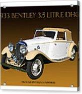 Bentley Derby D H C  Acrylic Print