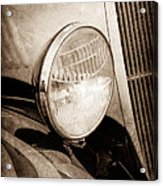 1933 Ford Coupe Hot Rod Acrylic Print