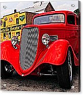 1933 Ford Coupe Acrylic Print