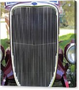1933 Ford Grille Acrylic Print